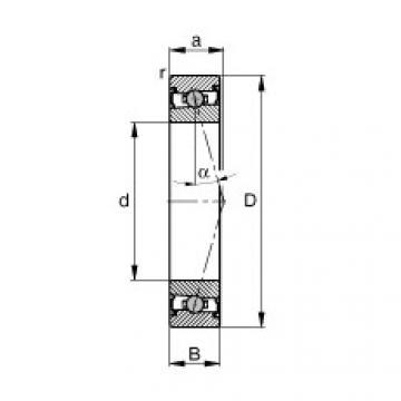 FAG Spindellager - HCS71911-C-T-P4S