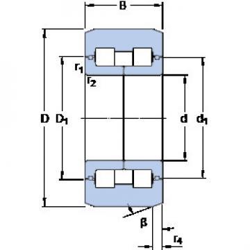 المحامل BC2B 320055 A SKF