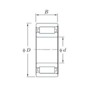 المحامل 8E-NK1-25X56.4X19-3 NTN