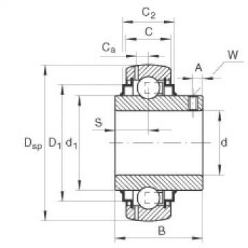 FAG Spannlager - GY1103-KRR-B-AS2/V